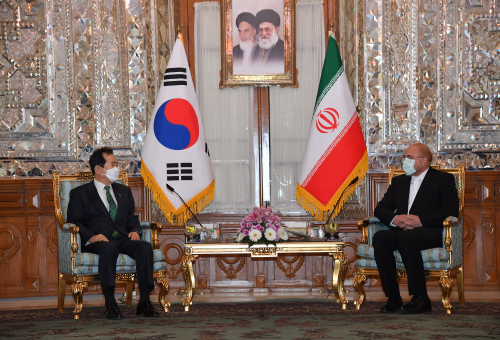 PM meets Iranian parliamentary leader